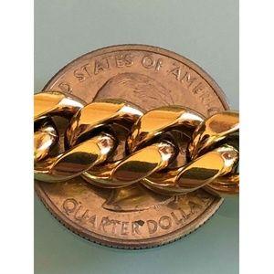 Harlembling Accessories - Harlembling 14k Gold Cuban Miami Link Bracelet
